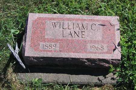 LANE, WILLIAM C. - Benton County, Iowa | WILLIAM C. LANE