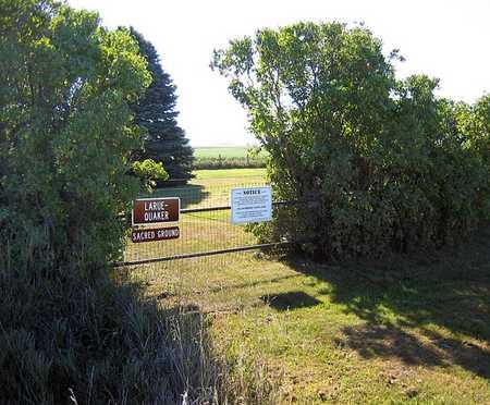 LARUE - QUAKER, CEMETERY - Benton County, Iowa | CEMETERY LARUE - QUAKER