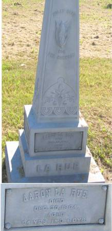 LARUE, AARON - Benton County, Iowa | AARON LARUE