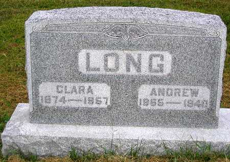 LONG, CLARA - Benton County, Iowa | CLARA LONG