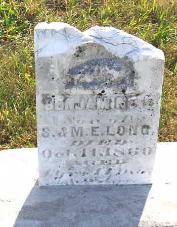 LONG, BENJAMINE D. - Benton County, Iowa | BENJAMINE D. LONG