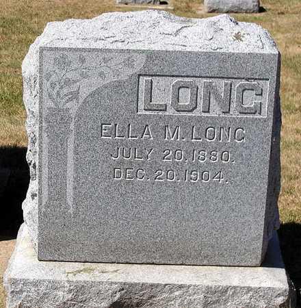 LONG, ELLA M. - Benton County, Iowa | ELLA M. LONG