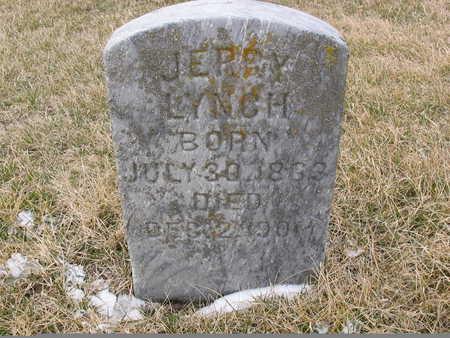 LYNCH, JERRY - Benton County, Iowa   JERRY LYNCH