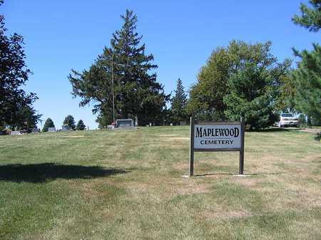 MAPLEWOOD, CEMETERY - Benton County, Iowa   CEMETERY MAPLEWOOD