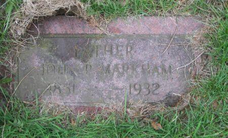 MARKHAM, JOHN P. - Benton County, Iowa | JOHN P. MARKHAM