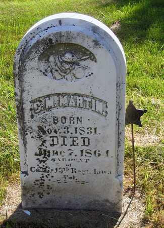 MARTIN, CHARLES M. - Benton County, Iowa | CHARLES M. MARTIN