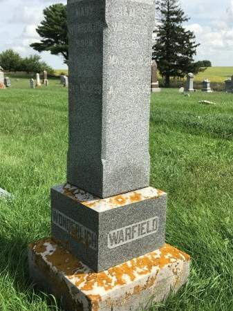 MARY, WARFIELD - Benton County, Iowa | WARFIELD MARY