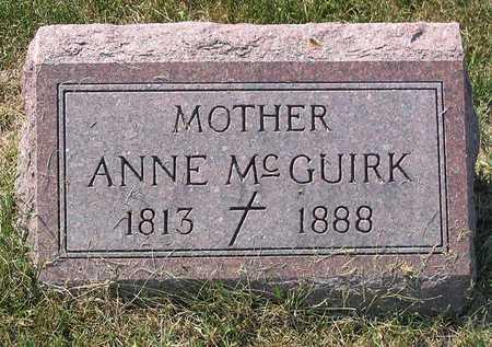 MCGUIRK, ANNE - Benton County, Iowa | ANNE MCGUIRK