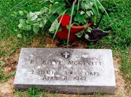 MCKEVITT, PHILLIP REEVE - Benton County, Iowa   PHILLIP REEVE MCKEVITT