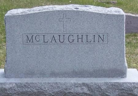 MCLAUGHLIN, MICHAEL FAMILY STONE - Benton County, Iowa | MICHAEL FAMILY STONE MCLAUGHLIN
