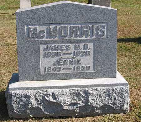 MCMORRIS, JENNIE - Benton County, Iowa | JENNIE MCMORRIS
