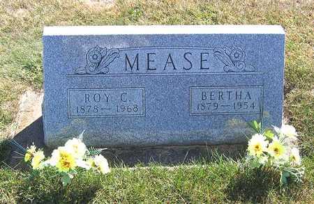 MEASE, BERTHA - Benton County, Iowa   BERTHA MEASE