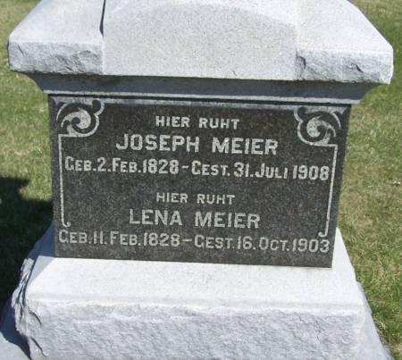 MEIER, JOSEPH - Benton County, Iowa | JOSEPH MEIER