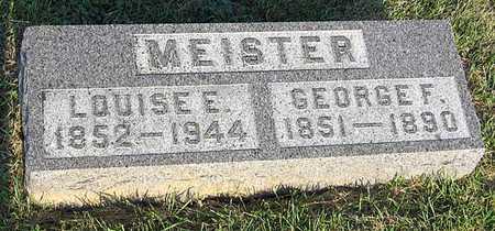 MEISTER, GEORGE F. - Benton County, Iowa | GEORGE F. MEISTER