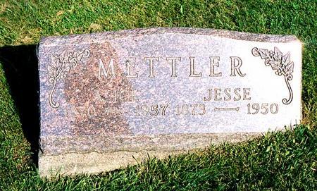 METTLER, JESSE E. - Benton County, Iowa   JESSE E. METTLER