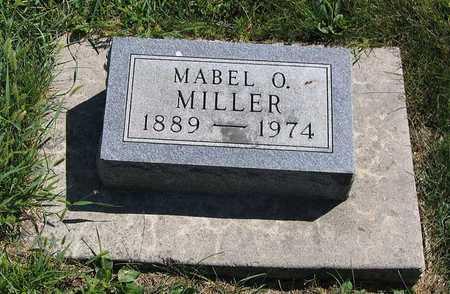 MILLER, MABEL O. - Benton County, Iowa   MABEL O. MILLER