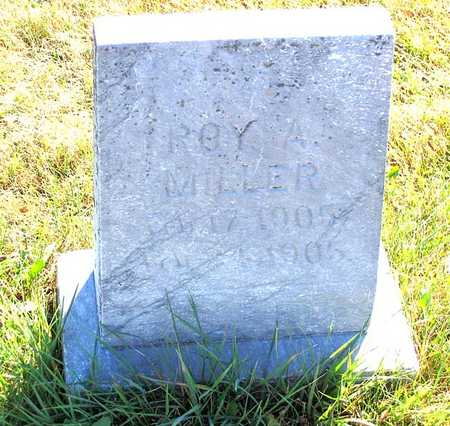 MILLER, ROY A. - Benton County, Iowa | ROY A. MILLER