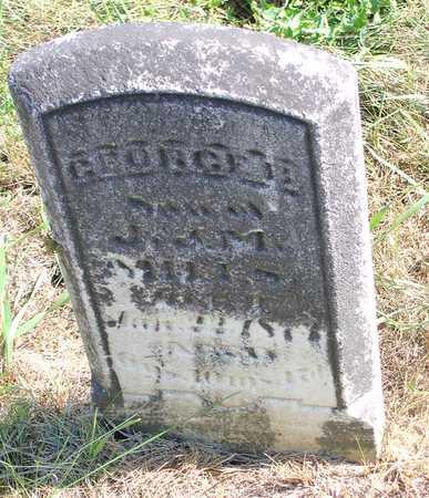 MILLS, GEORGE B. - Benton County, Iowa | GEORGE B. MILLS