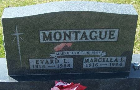 MONTAGUE, EVARD L - Benton County, Iowa | EVARD L MONTAGUE