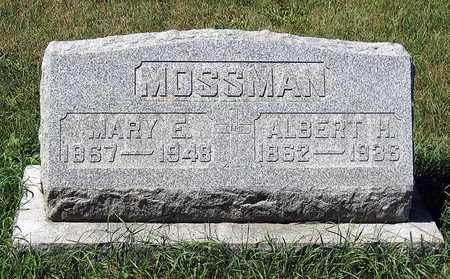 MOSSMAN, MARY E. - Benton County, Iowa | MARY E. MOSSMAN