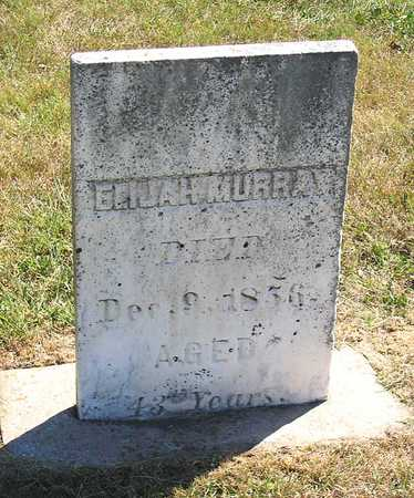 MURRAY, ELIJAH - Benton County, Iowa | ELIJAH MURRAY