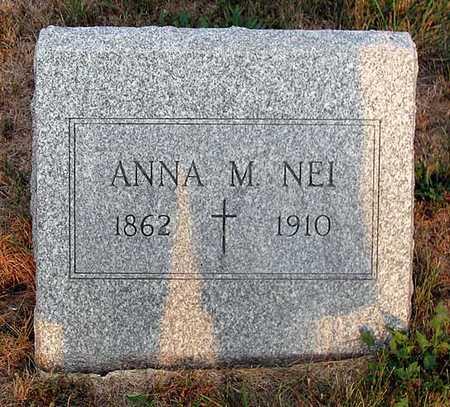 NEI, ANNA M. - Benton County, Iowa   ANNA M. NEI