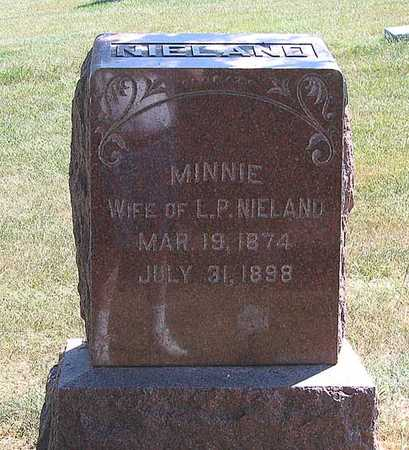 NIELAND, MINNIE - Benton County, Iowa | MINNIE NIELAND