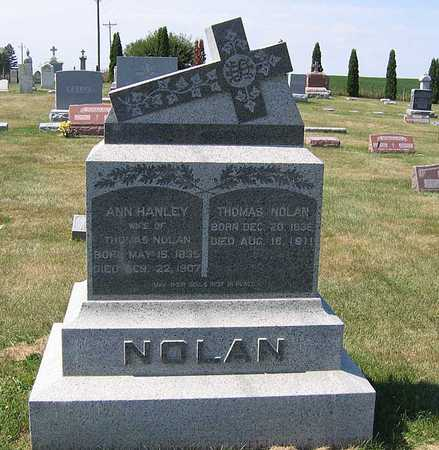 HANLEY NOLAN, ANN - Benton County, Iowa | ANN HANLEY NOLAN