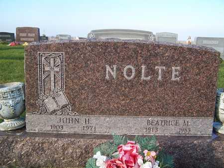 NOLTE, BEATRICE M. - Benton County, Iowa | BEATRICE M. NOLTE