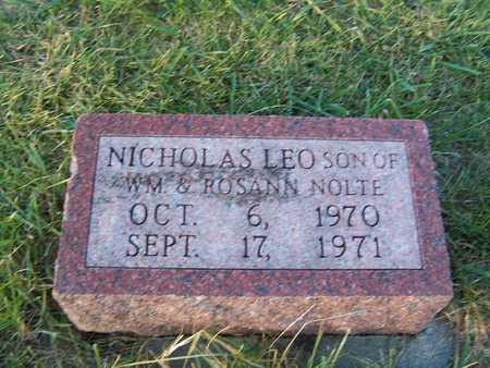 NOLTE, NICHOLAS LEO - Benton County, Iowa | NICHOLAS LEO NOLTE