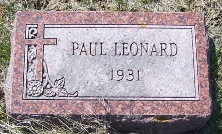 NOLTE, PAUL LEONARD - Benton County, Iowa | PAUL LEONARD NOLTE