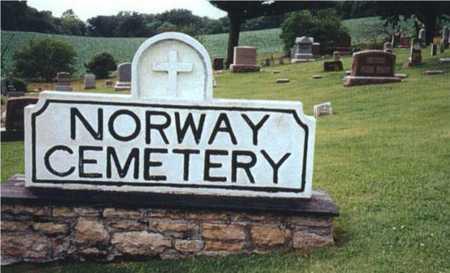 NORWAY, CEMETERY - Benton County, Iowa | CEMETERY NORWAY