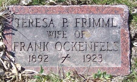 OCKENFELS, TERESA P. - Benton County, Iowa | TERESA P. OCKENFELS