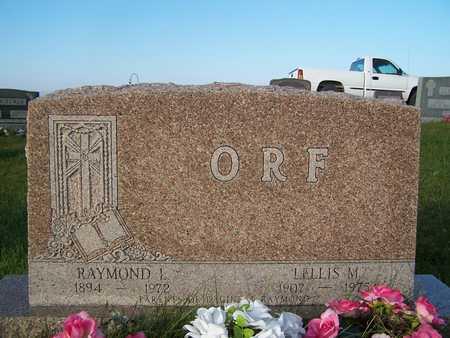 ORF, LELLIS M. - Benton County, Iowa | LELLIS M. ORF