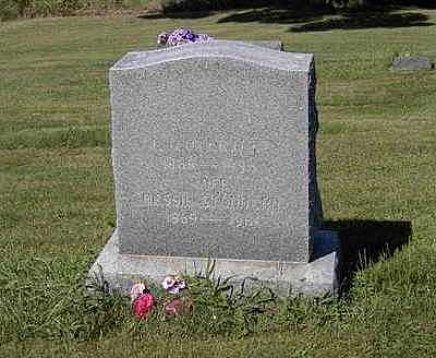 STODDARD OVERTURF, BESSIE MAY - Benton County, Iowa | BESSIE MAY STODDARD OVERTURF