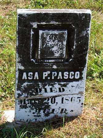 PASCO, ASA P. - Benton County, Iowa | ASA P. PASCO