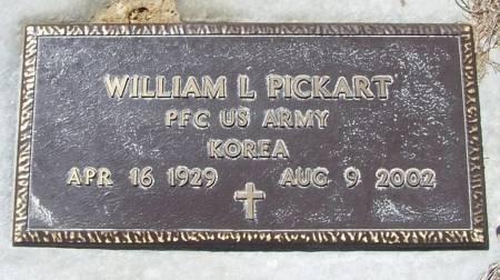 PICKART, WILLIAM L - Benton County, Iowa | WILLIAM L PICKART