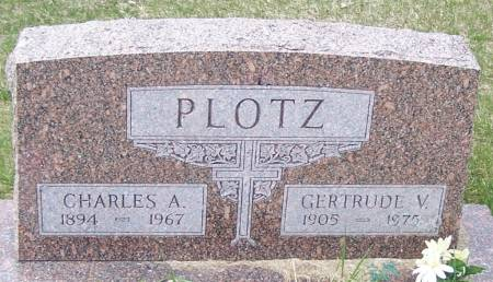 PLOTZ, CHARLES A - Benton County, Iowa | CHARLES A PLOTZ