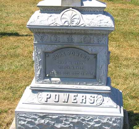 POWERS, JOHN HENRY - Benton County, Iowa   JOHN HENRY POWERS