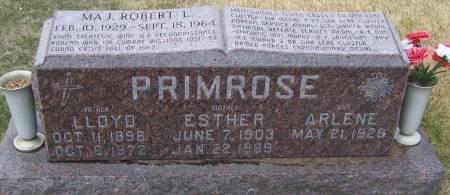 PRIMROSE, LLOYD - Benton County, Iowa   LLOYD PRIMROSE