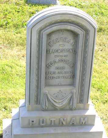 BLACKSTONE PUTNAM, MARTHA A. - Benton County, Iowa | MARTHA A. BLACKSTONE PUTNAM