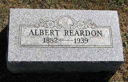 REARDON, ALBERT C. - Benton County, Iowa | ALBERT C. REARDON
