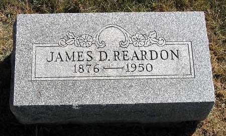 REARDON, JAMES D. - Benton County, Iowa | JAMES D. REARDON