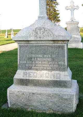 REDMOND, CATHERINE - Benton County, Iowa   CATHERINE REDMOND