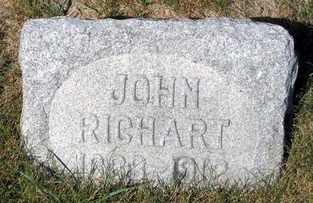 RICHART, JOHN - Benton County, Iowa | JOHN RICHART