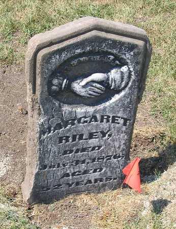 RILEY, MARGARET - Benton County, Iowa | MARGARET RILEY