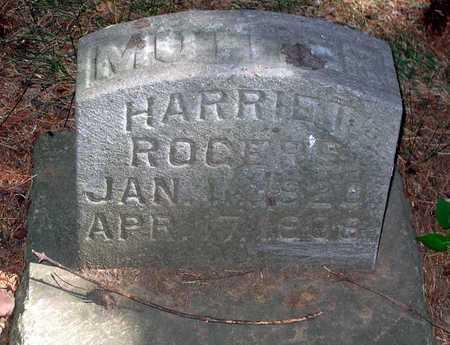 ROGERS, HARRIET - Benton County, Iowa   HARRIET ROGERS
