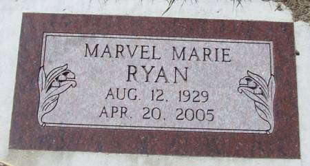 RYAN, MARVEL MARIE - Benton County, Iowa | MARVEL MARIE RYAN