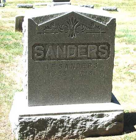 SANDERS, JOHN F. - Benton County, Iowa | JOHN F. SANDERS