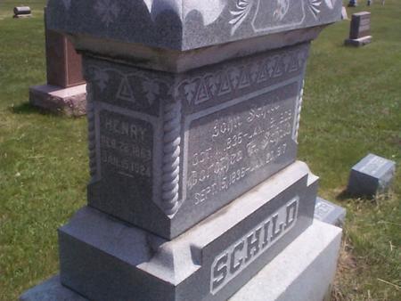 BUDDE SCHILD, DOROTHEA H. - Benton County, Iowa | DOROTHEA H. BUDDE SCHILD